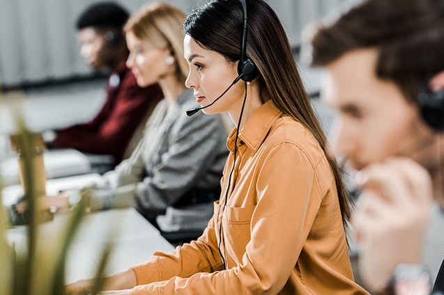 call center representatives